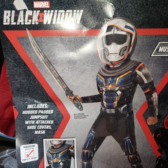 Kids Black Widow Taskmaster Costume M